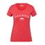 Fjällräven Trekking Equipment - Camiseta manga corta Mujer - rojo